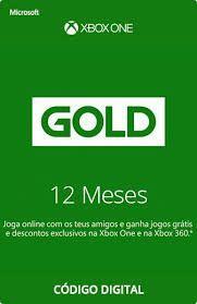 [RECARGAPAY PRIME] Gift Card Xbox Live Gold - 12 meses | R$174