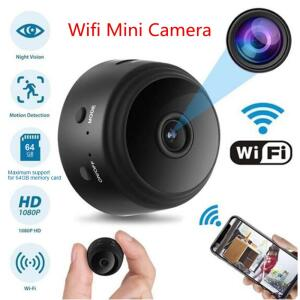 Mini Câmera Espiã Wi-Fi Full HD Visão Noturna | R$