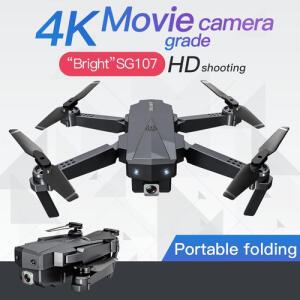 Mini drone dobrável com câmera 4K - SG107 | R$130