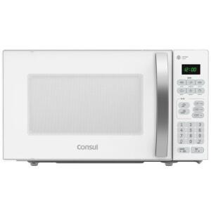 Micro-ondas Consul, 20 Litros, 10 Níveis de Potência, Branco - CMA20BB | R$399