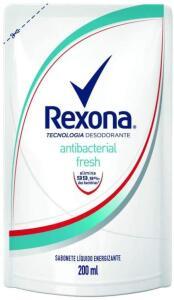 [Primes] Sabonete Líquido Rexona Antibacterial Fresh 200mL Refil | 3 unid | R$3,63
