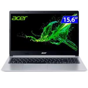Notebook Acer Aspire 5 A515-55G-588G Intel Core I5-1035G1 8GB 256GB SSD 15.6' Windows 10 | R$3678