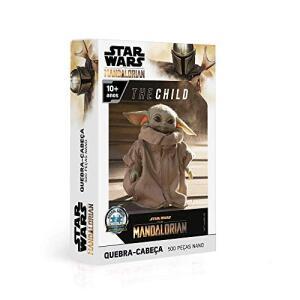 Quebra Cabeça 500 Peças Nano -The Child - the Mandalorian - Star Wars | R$23