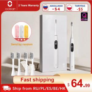 Escova de Dentes Elétrica Oclean X PRO Elite   R$294