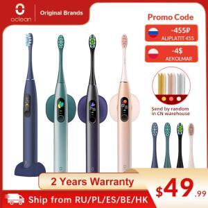 Escova de dentes elétrica Oclean X PRO Sonic | R$210