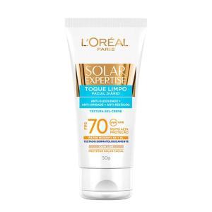 Protetor Solar L'oréal Paris Toque Limpo Com Cor Fps70 | R$38