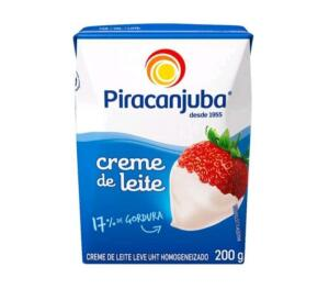 [APP+CLIENTE OURO+LEVE 6 PAGUE 4]Creme de Leite Integral Piracanjuba 200g | R$1,67