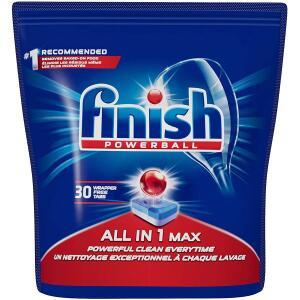 Finish Powerball 30 Unid por R$26,69 - R$0,90 por lavada