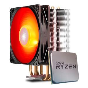 Processador AMD Ryzen 5 5600X 4.6GHz + Cooler DeepCool Gammaxx 400 V2 Red | R$ 1980
