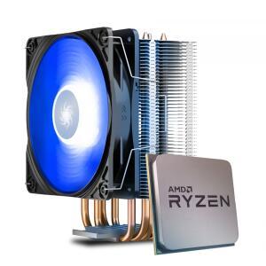 Processador AMD Ryzen 5 5600X 4.6GHz + Cooler DeepCool Gammaxx 400 V2 Blue | R$ 1980