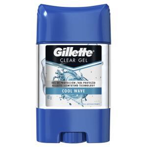 [8 unid.] Desodorante Gel Gillette Cool Wave 82g | R$14 a unidade