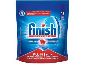 Lava-louças Detergente Finish Powerball All In One Max | R$12