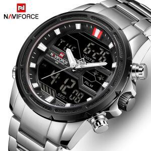 Relógio NAVIFORCE masculino relógio de quartzo | R$110