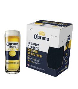 [cliente ouro] comprando 6 Kit Cerveja Corona Lager 4 Unidades 330ml com Copo