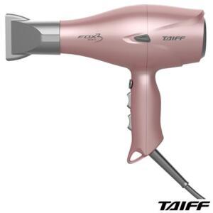 Secador de Cabelo Taiff Fox Íon 3 com 02 Velocidades e 2200W Rose | R$386