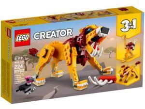 LEGO Creator Leão Selvagem 224 Peças | R$85