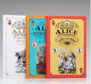 Box 3 Livros | Alice No País das Maravilhas | Lewis Carroll - R$25