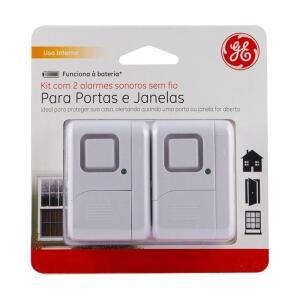 Alarme de Porta e Janelas General Electric Sem Fio - 2 peças | R$98