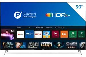 Smart TV 50'' Philips 50PUG7625/78 4K UHD P5 | R$1.940