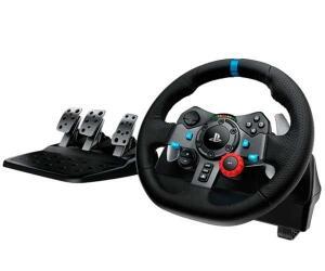 VOLANTE E PEDAIS LOGITECH G29 DRIVING FORCE USB PARA PS3/PS4/PC | R$1599