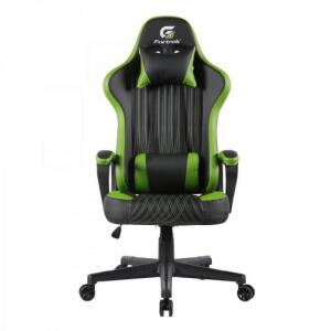 Cadeira Gamer Vickers Preta/Verde FORTREK   R$854