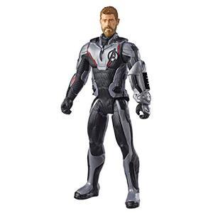 Boneco Titan Hero Thor 2.0, Avengers, Branco/Preto | R$30
