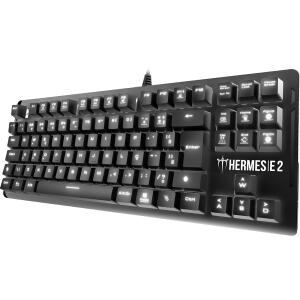 Teclado Mecânico Gamer Gamdias Hermes E2 Led White | R$196