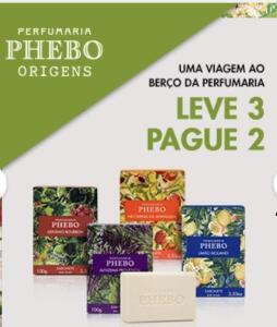 Sabonetes Phebo - Leve 3 Pague 2