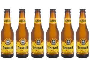 Cerveja Eisenbahn Pilsen 6 Unidades - 355ml | R$17
