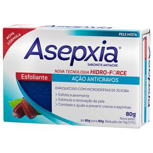 Sabonete Esfoliante Asepxia - 90g | R$6