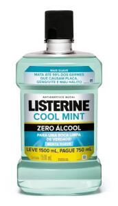 Antisséptico Bucal Listerine Zero 1,5L | R$26