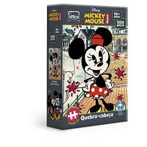 [PRIME] Quebra-Cabeça Mickey Mouse Nano - 500 peças | R$22