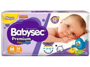 [COMPRE 3, PAGUE 1] Fralda Babysec Premium Galinha Pintadinha - Tam. M | R$10