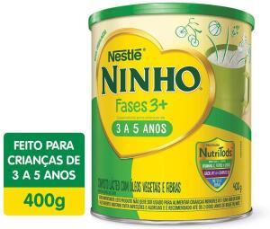 Composto Lácteo, Ninho, Fases 3+, 400g | R$17