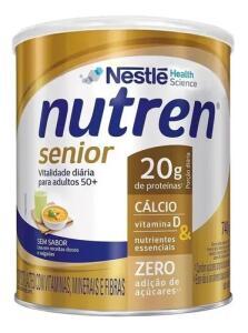 Nutren Senior Sem Sabor Suplemento Alimentar Lata 740g   R$79