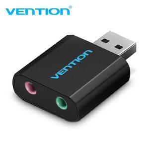 [NOVOS USUÁRIOS] Placa de Som USB Vention | R$6