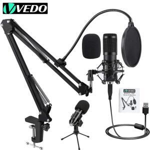 [NOVOS USUÁRIOS] Kit Microfone VEDO BM800 | R$97