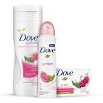 [NETFARMA] Kit Desodorante Antitranspirante Dove Go Fresh Romã e Verbena Aerosol - R$ 15,99