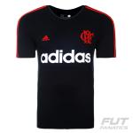 [Fut Fanatics] Camiseta Adidas Flamengo Preta por R$ 81
