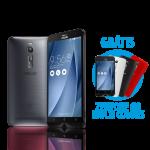 """[Loja Asus] ASUS Zenfone 2 4GB/32GB Dourado + Zenfone Go 4,5"""" Multicolor (Preto, vermelho e branco) - R$1399"""