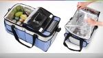 [Kangoolu] Bolsa Térmica Ice Cooler Mor 36 Litros Com Divisória - R$65