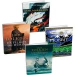 [Submarino] Kit Livros: Contos Inacabados + Os Filhos de Húrin + O Silmarillion + O Hobbit - R$36