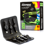[Cirilo Cabos] Kit de Cabos Retráteis 7 em 1 - USB 2.0, P2 3.5mm, RJ45 - Maxprint R$ 14,99