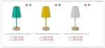 nina wood luminária mesa por R$ 38