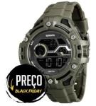 [RICARDO] - Relógio Masculino Speedo, Digital, Pulseira de Plástico, Caixa de 5,3 cm, Resistente à Água 10 ATM
