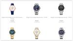 Relógios das mais variadas marcas.