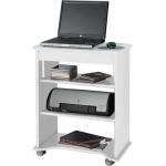 Mesa para Computador Tampo Branca  De R$ 170,00 por R$ 90,00.