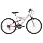 Bicicleta Mountain Bike Track & Bikes 18 Marchas Aro 26 Suspensão Full Suspension Freio V-Brake