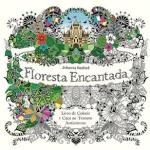 Livro - Floresta Encantada: Livro de Colorir e Caça ao Tesouro Antiestresse por R$ 4