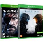 Jogos para Xbox One Halo 5 Guardians Microsoft + Metal Gear Solid V: Ground Zeroes Konami